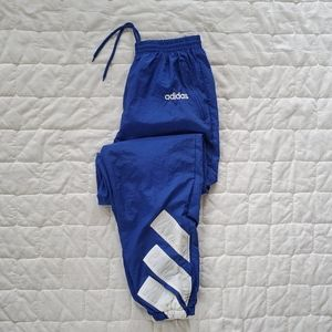 Vintage 90s Adidas 3-Stripe Windbreaker Pants
